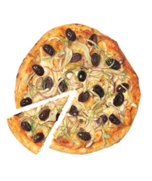 Fennel, Olive & Onion Pizza