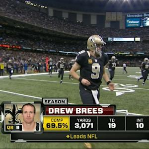 Week 12: New Orleans Saints quarterback Drew Brees highlights