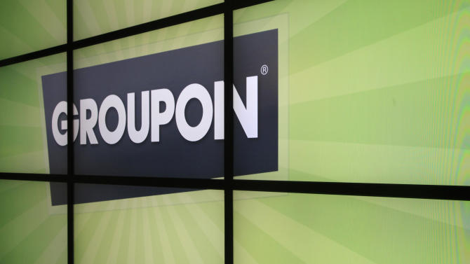 Groupon stock plunges on growth worries
