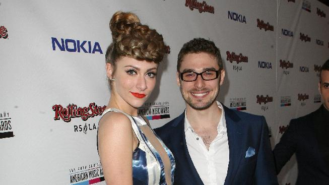 Pop Duo Karmin arrives at the Rolling Stone American Music Awards After Party, on Sunday, Nov. 18, 2012 in Los Angeles. (Photo by Casey Rodgers/Invision for Nokia/AP Images) **Please include any additional event details in the second sentence of the caption.