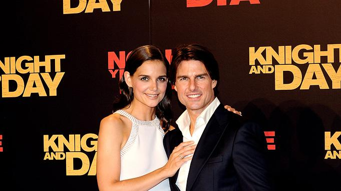 Knight and Day Spanish Premiere 2010 Katie Holmes Tom Cruise