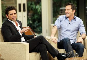 John Stamos and Jeff Probst …