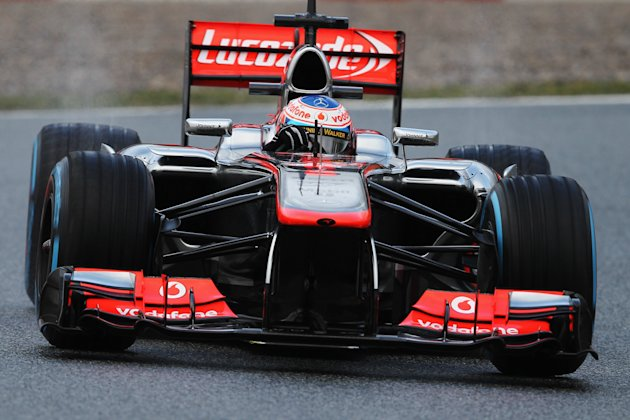 F1 Testing in Barcelona - Day Two
