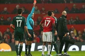 Giggs: I've never experienced shock like Nani red card