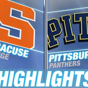 Syracuse vs Pittsburgh | 2014 ACC Football Highlights
