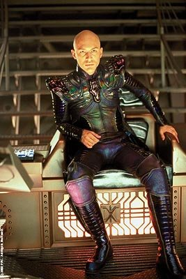 Tom Hardy as the mysterious Shinzon in Paramount's Star Trek: Nemesis