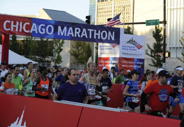 2013 Bank of America Chicago Marathon