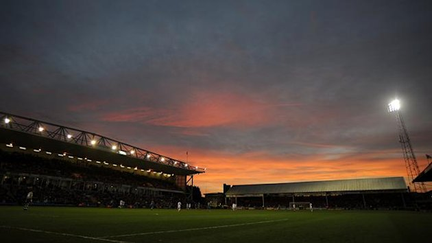 Gerneral view of London Road home of Peterborough United