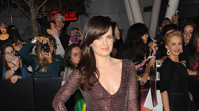 The Twilight Saga Breaking Dawn Part 1 2011 LA Premiere Elizabeth Reaser
