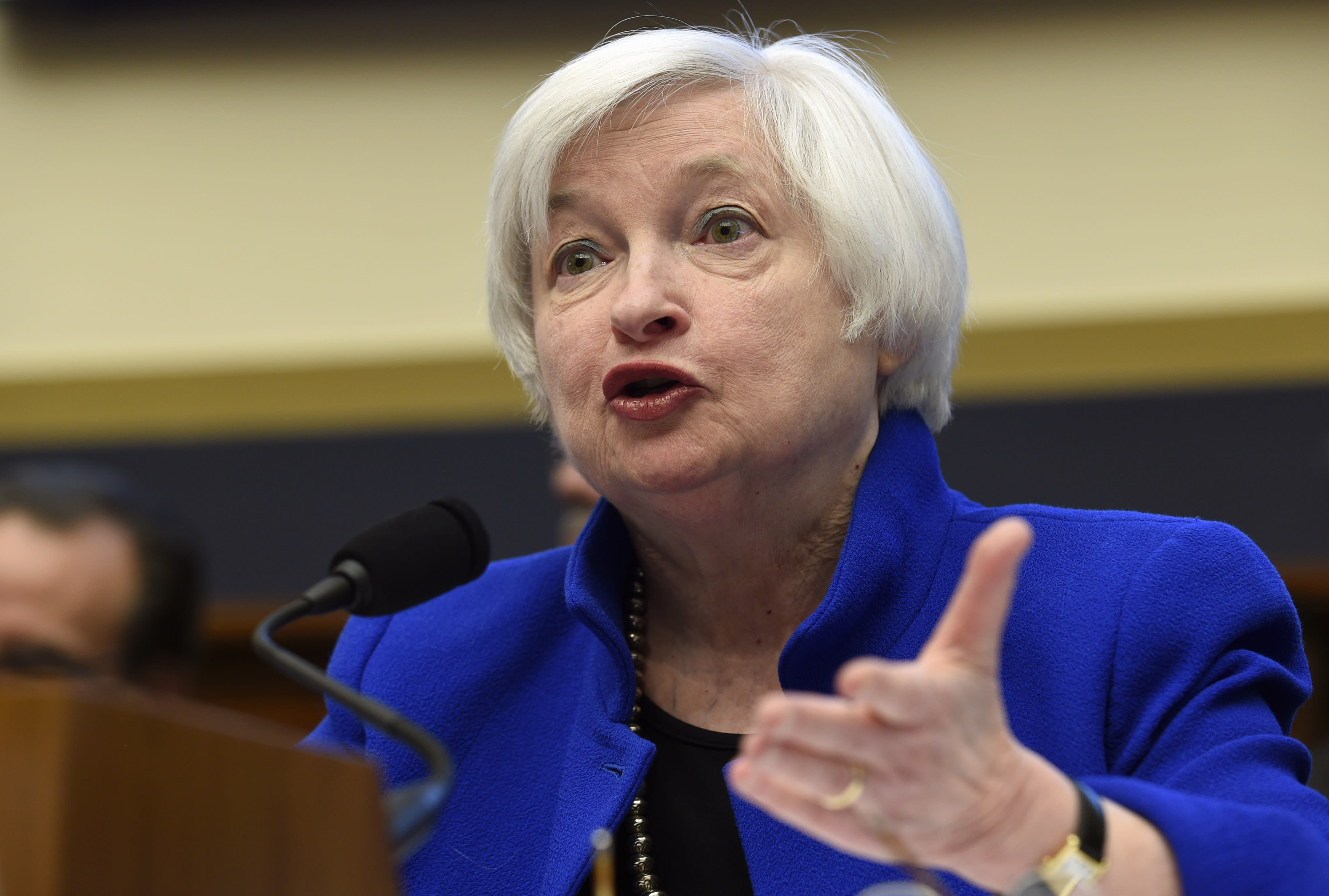 Yellen: Slower rate hikes if economy disappoints