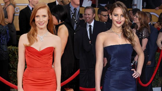 ¡Las SAG Awards en Hollywood!