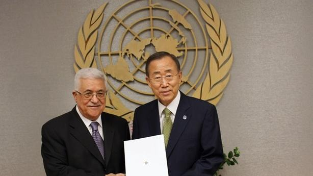 Palestinians Elated as Abbas Submits U.N. Statehood Request
