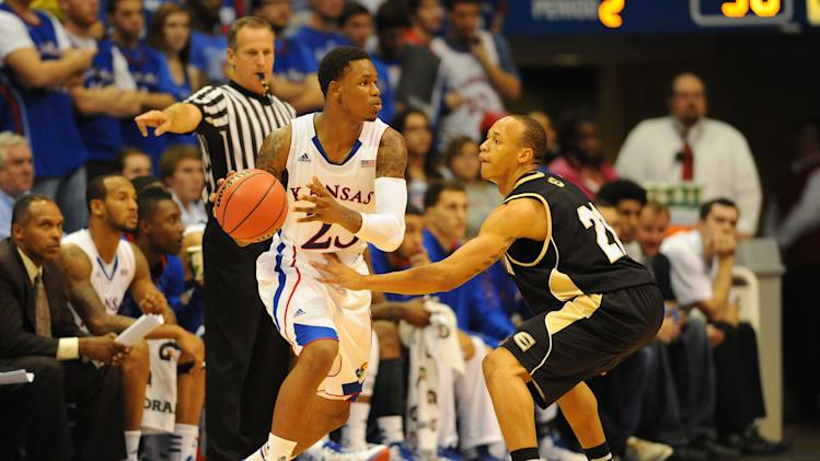 NCAA Basketball: Emporia State at Kansas