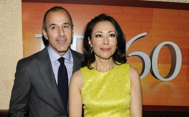 NBC Is Supposedly Staging a Makeup Lunch for Matt Lauer and Ann Curry