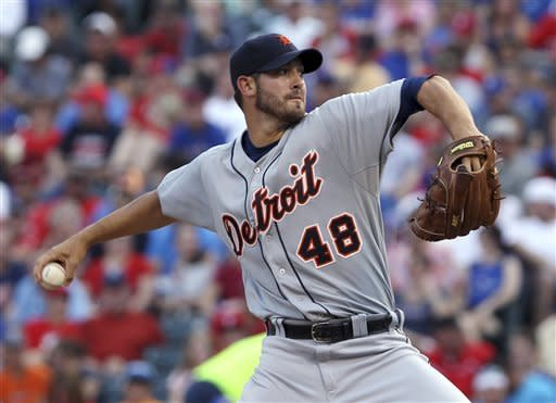 Cabrera has 3 RBIs for Tigers in 8-2 win at Texas