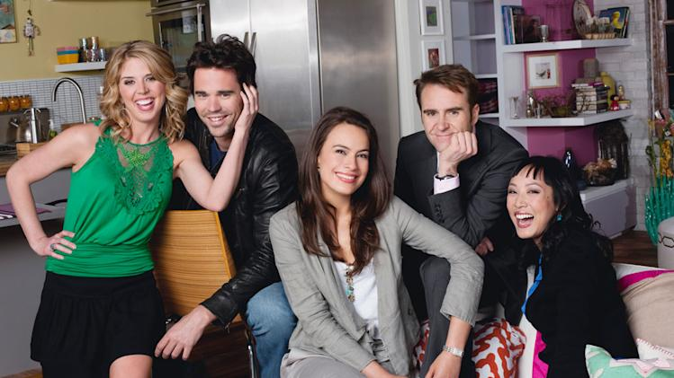 The Cast of the NBC series 100 Questions for Charlotte Payne.