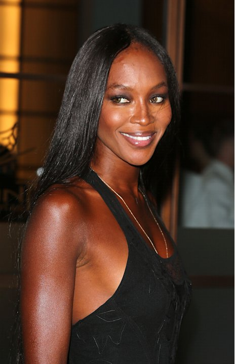 Naomi Campbell Hosts Olympic Celebration Dinner