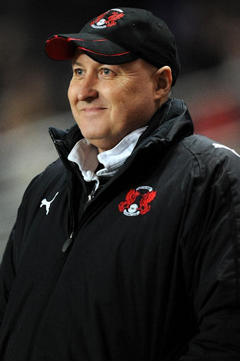 Russell Slade was not impressed by Leyton Orient's first-half performance