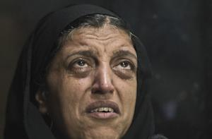 Egyptian Layla Ezzat, a relative of one of the victims …
