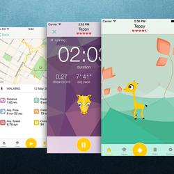 Tep Is An Adorable Fitness Tracking App That Works Like ATamagotchi