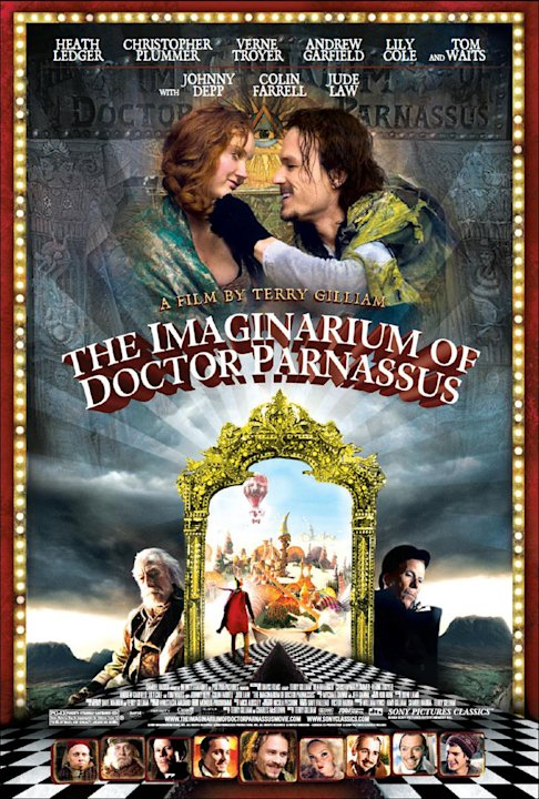 The Imaginarium of Doctor Parnassus Poster Production Stills Sony Pictures Classics 2009