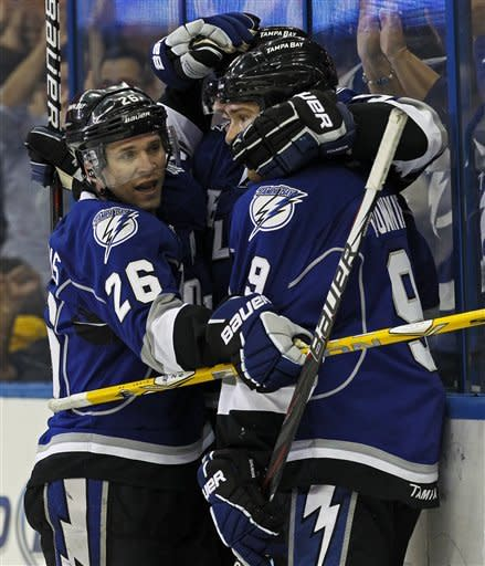 St. Louis gets hat trick as Lightning top Panthers
