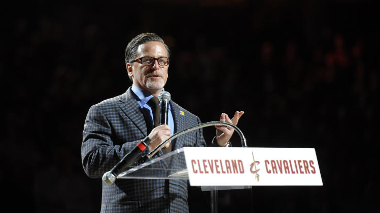 Owner Dan Gilbert: Cavaliers' front office 'united' on choice f…