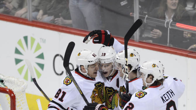 NHL: Chicago Blackhawks at Colorado Avalanche