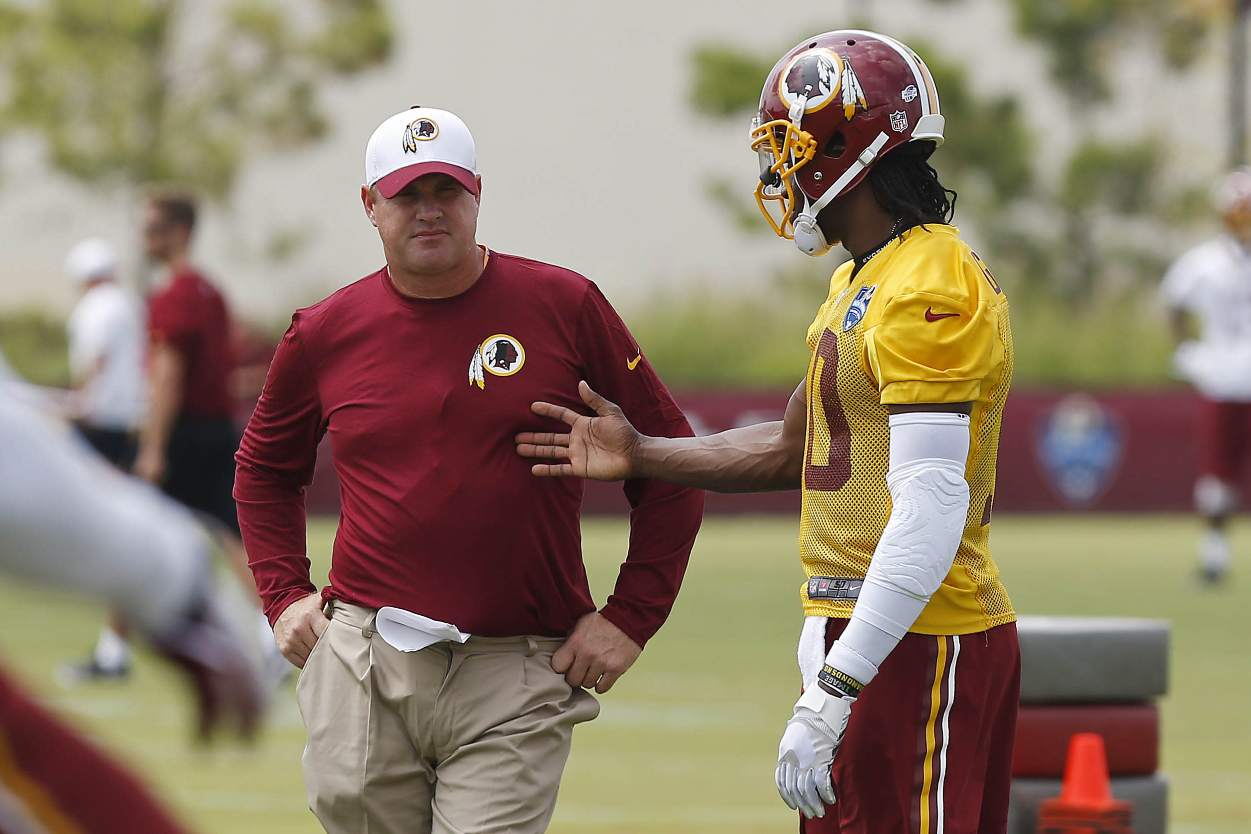 OPEN THREAD: Seems important for RG3, Redskins, but it's still preseason