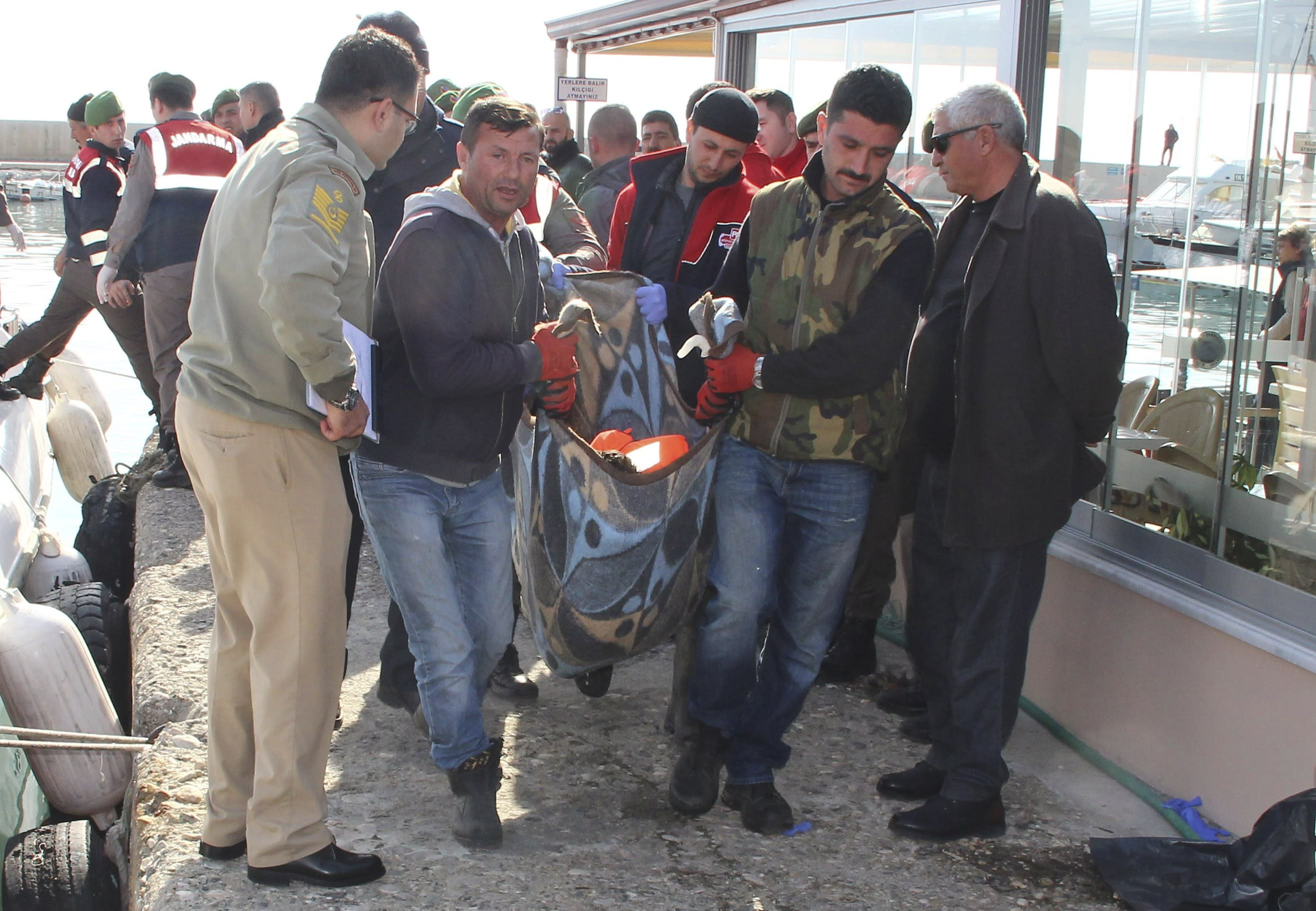 The Latest: Death toll in sinking off Turkey now at least 27