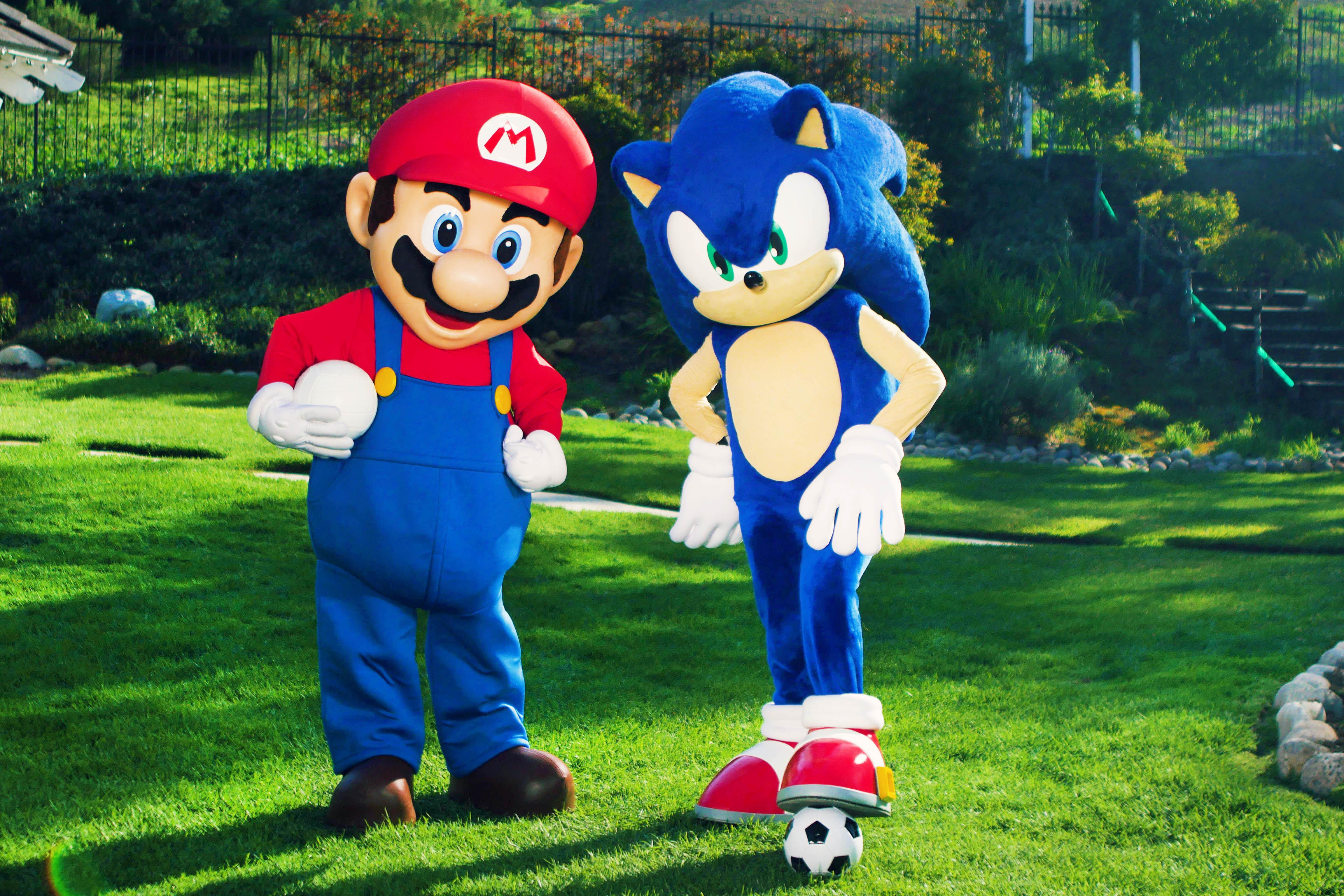 Can't go too fast: Nintendo is giving away 'Mario & Sonic' prizes to active fans