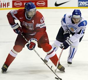 Jagr leading Czechs in fifth Olympic Games