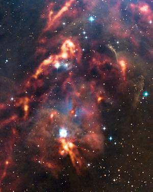 Stunning Photo Captures Reflective Cloud in Orion Constellation