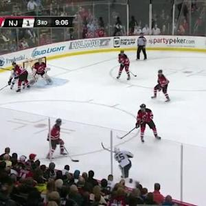 Cory Schneider Save on Andrew Ebbett (10:56/3rd)