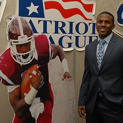 Fordham's Edmonds Runs Away with 2014 Jerry Rice Award