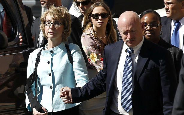 Gabrielle Giffords Is Going to Newtown