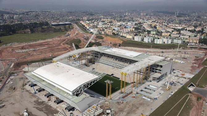 Blatter: Mid-April finish for damaged WCup stadium