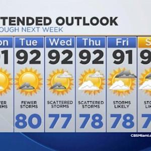 CBSMiami.com Weather 7/28/2014 Monday 9AM