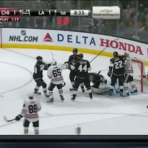 Jonathan Quick Save on Duncan Keith (11:26/1st)