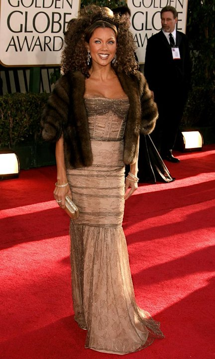 Vanessa Williams at the 64th annual Golden Globe Awards.