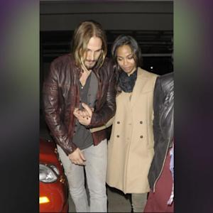Zoe Saldana Spills On Her Secret Wedding