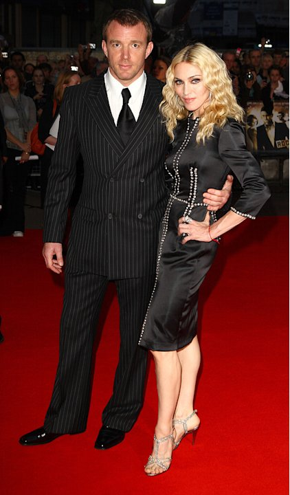 RocknRolla Premiere UK 2008 Guy Richie Madonna