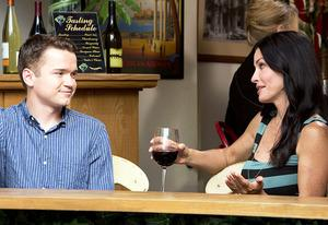 Dan Byrd and Courteney Cox | Photo Credits: Danny Feld/TBS
