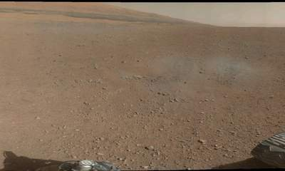 Mars Rover Beams Back Amazing Panorama Images