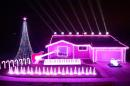 The Force is with this 'Star Wars'-themed light show