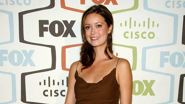 Summer Glau arrives at the FOX Fall Eco-Casino party.