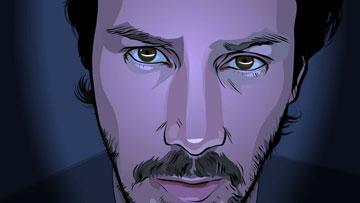 Keanu Reeves in Warner Independent Pictures' A Scanner Darkly
