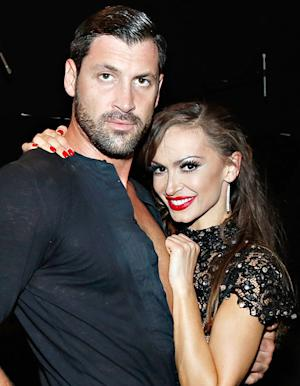 "Dancing With the Stars' Karina Smirnoff Explains Kissing Ex-Fiance Maksim Chmerkovskiy During Live Show: ""I Didn't Know What Else to Do"""