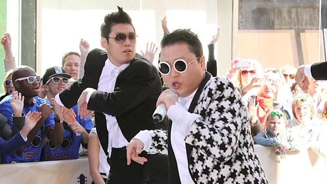 "Psy Performs On NBC's ""Today Show"""