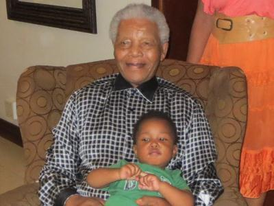 First Person: Mandela Is Happy and Healthy